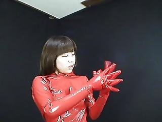 Japanese Latex Catsuit 55