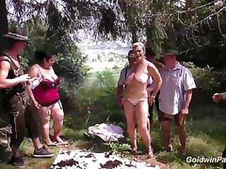 Ass, Ass Fuck, Bbw, Deepthroat, Dp, Facial, Fucking, Gangbang, German, Orgy, Outdoor, Party, Pierced, Threesome