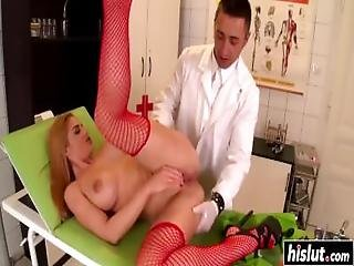 Sexy Nurse Likes Fucking Her Patients