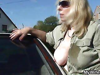 Car Washing Mature Fucked