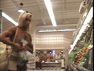 Valentina Chepiga The Muscle Whore While Shopping