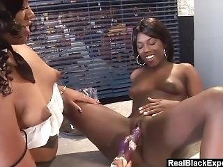Realblackexposed – Two Ebony Hotties Lick Each Other To Climax