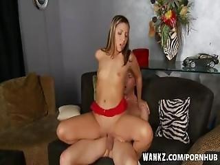 Wankz- Sexy Sasha Hall Takes Surprise Creampie
