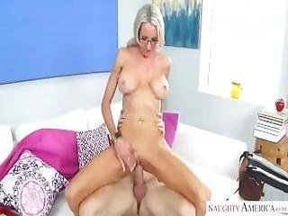 Bitch Emma Starr Loves Young Boy.
