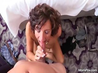 Hot Big Tits Nympho Milf Fucks Cock Pov