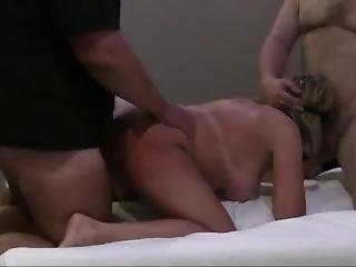 Hot Wife, Threesome With Hooters Waitress In The Penthouse, Part 2