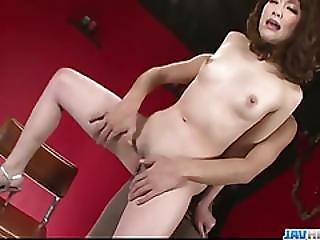 Dazzling Oral Play For Tomoka Sakurais Pussy