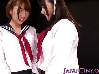 Japanese Schoolgirl Fingers Squirting Teen