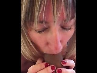British Housewife Gives Her Lover A Hotel Blowjob