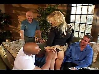 Husband Lets His New Bride Fuck A Total Weirdo Here