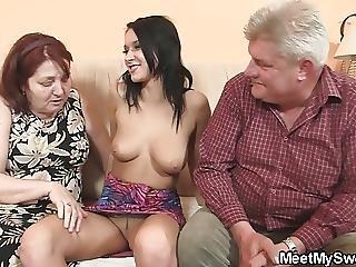 Very Old Couple Fuck Teen