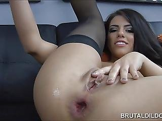 Anal And Vaginal Big Brutal Dildos