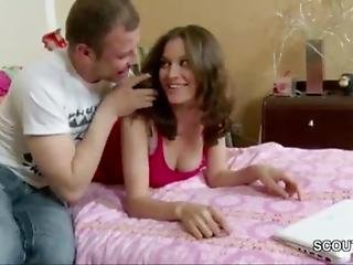 Brother Seduce Step-sister To Fuck Her Tight Ass