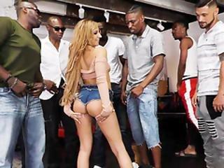 Moka Mora Gets Gangbanged By Black Dicks - Cuckold Sessions