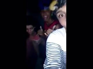 amatör, brasiliansk, knullar, party, offentligt, Tonåring