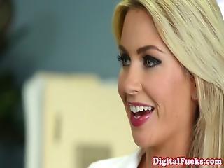 Busty Tasha Reign Goes To Town On Dick