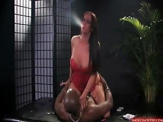 Emma Butt- Smoking Fetish- Sexy Hot Milf Fuck Big Black Cock.