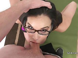 Anal Sex And Facial For Slim Girlfriend