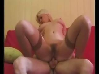 Sofa Fuck For Blonde Mature Milf
