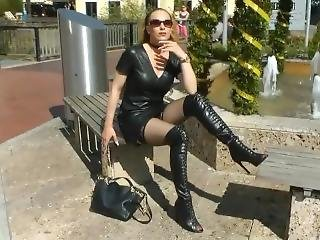German Leather Woman 8