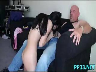 Hotty Gives A Blowjob