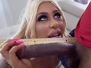 Busty And Needy Blonde Chick Brandi Bae Needs Bbc Badly