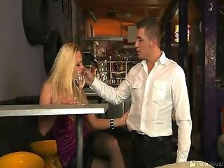 Barra Needs Two Things That Steve The Bartender Can Provide A Drink And A Nice Hard Cock To Play With The Drink Is Quickly Forgotten As Barra Drops To Her Knees To Imbibe Steve S Pole Instead Ultimately What She Really Wants Is That Dick Deep In Her Ass A