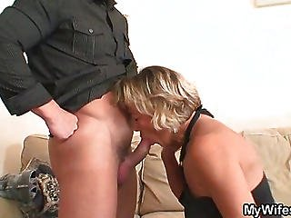 Cock For The Tasty Mature