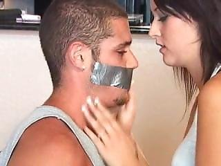 Girl Tapegagging Guy 2