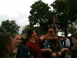 Rockfest Kc 2011 Titties Flashing At The Concert