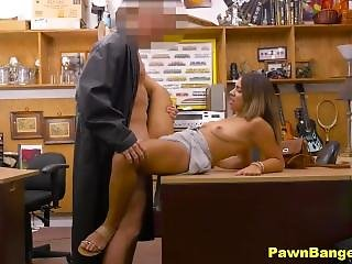 Beautiful Teen Gets Her Latino Pussy Fucked For Cash