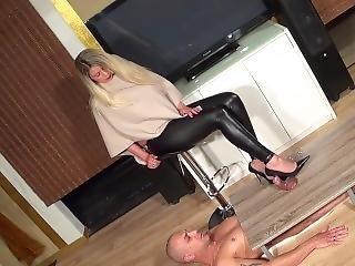 Shoejob Heel Insertion Black Stiletto