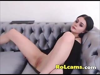Super Sexy Teen Tight Pussy Fingers On Webcam