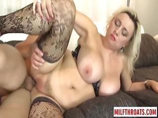 Big Tits Milf Titty Fuck And Cum On Tits