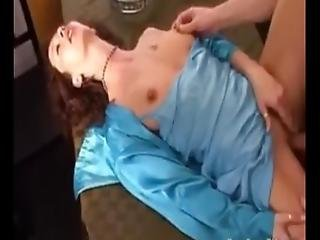 Horny Milf Cheats On Her Husband For The First Time