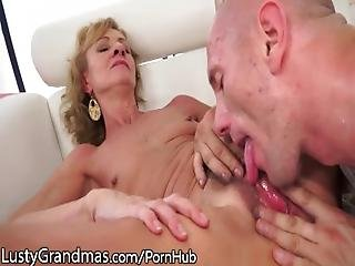 Lustygrandmas Hairy Granny Eaten And Drilled To Satisfaction%21