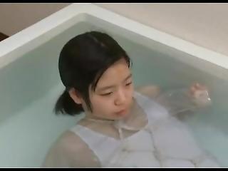 Japanese Girl Breath Holding
