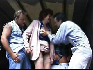 Emma Denholm Fucked By Three Horny Dudes