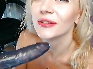 Amateur, Blonde, Dildo, Penetration, Solo