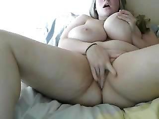 Absolutely Beautiful Bbw Fucking Herself