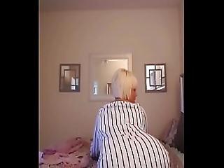 Bbw Blonde Twerk