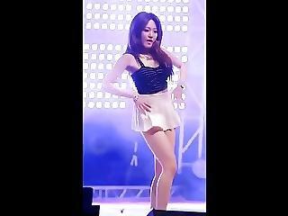Asiatisch, Luder, Brünette, Zusammenfassung, Tanzend, Koreanisch, Park, Sexy, Jugendliche