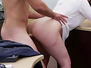 Nice Fucking Action At The Office Of The Pawnshop