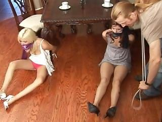 Carissa And Danielle Tied Up Part 1