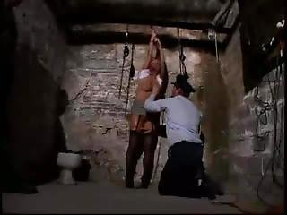 Slave Was Captured And Electric Shocked Punishment