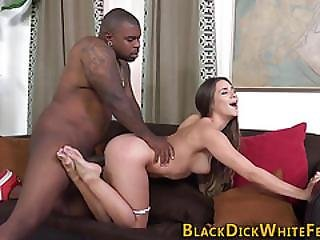 Teen Rides Black Anaconda