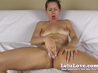 Masturbating And Spreading My Pussy For Your Cumshot Then Cum Play