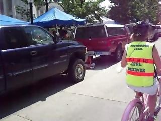 biker, offentlig