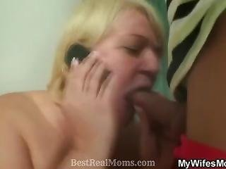 Busty Mother In Law Assfucked By Lucky Guy