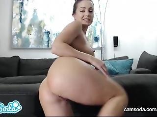 røv, stor røv, bombe, brunette, onani, pornostjerne, webcam, våd